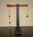 Spheres on a String