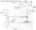 Tacoma Bridge Simulation